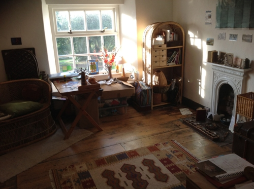 Sarah's studio pic