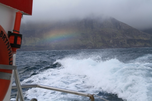 Boat to Mykines