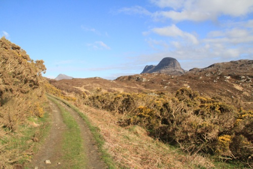track to Suilven sm