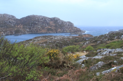 view from Willie's Achmelvich